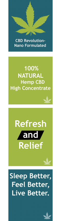 HempDox Natural CBD Medical Marijuana Cannabis Banner