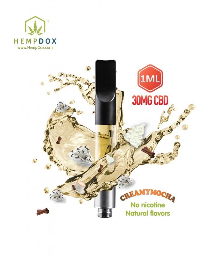CBD Vape Cartridge Creamy-Mocha Flavor