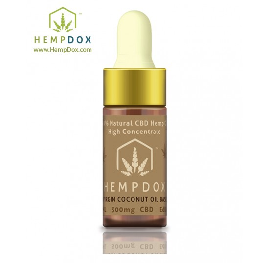 CBD Tincture Edible Coconut Oil Based