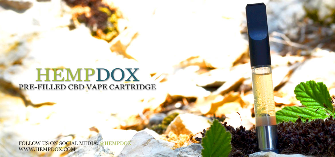 HempDox CBD Prefilled Tank Cartridge - Wholesale USA Canada